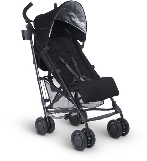 Uppababy G-Luxe. Perfect umbrella stroller and a must have on your registry!