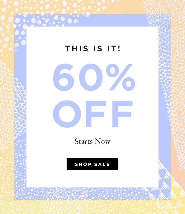Loeffler Randall Summer Sale - Final Reductions on Shoes and Handbags now 60% Off at LoefflerRandall.com // email design