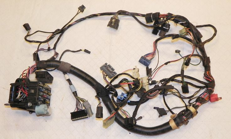 Jeep Wrangler Yj Interior Under Dash Wiring Harness Hard