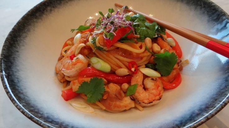 Spaghetti Goan Sweet & Sour