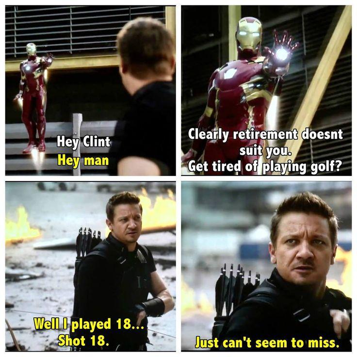Captain America: Civil War #Hawkeye #IronMan #CaptainAmericaCivilWar