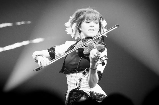 Lindsey Stirling is amazing she makes violin so much more appealing.