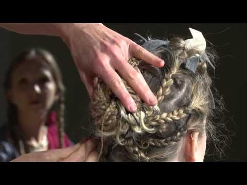 ▶ Boshell Foundation Lecture on Ancient Roman Hairdressing: Fiction to Fact - YouTube with Janet Stephens