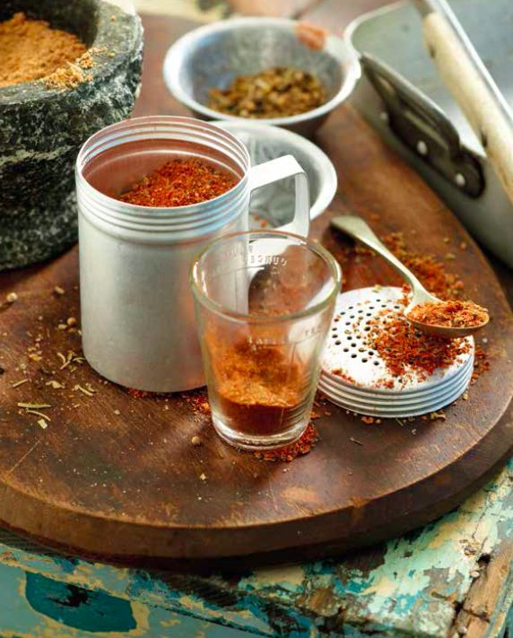 Make your own grilling, BBQ, or braai seasoning salt spice mix.