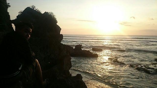 Dibalik Tebing Pantai Bluepoint - Bali | Rizaltaf.com | Life's for Sharing
