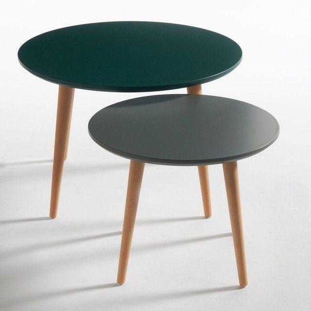 table gigogne la redoute bureau vintage jimi with table gigogne la redoute tables gigognes. Black Bedroom Furniture Sets. Home Design Ideas