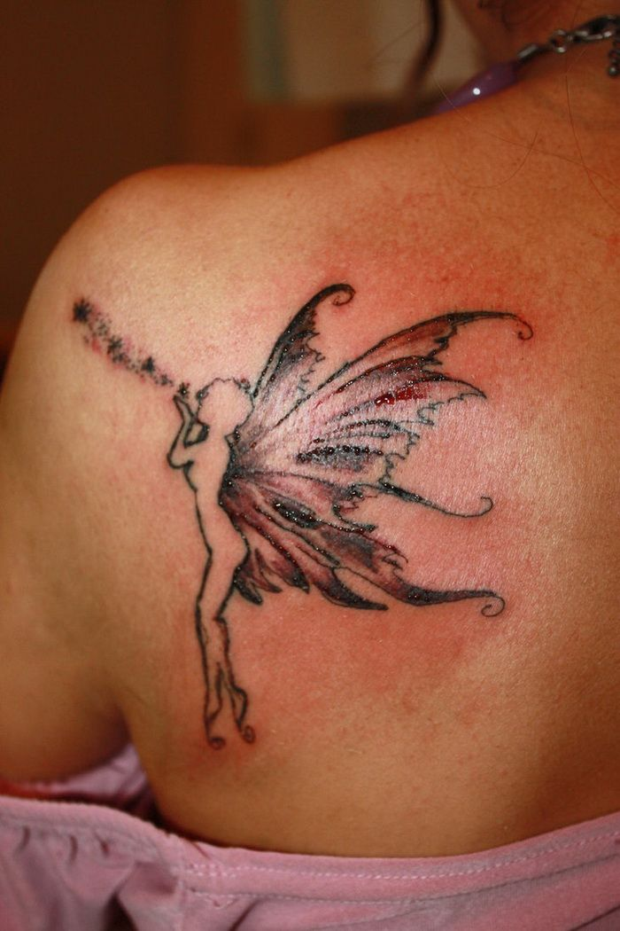 fairy tattoos for women designs   Fairy Tattoo Designs for Women