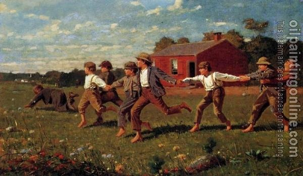 Snap the Whip, Homer Winslow