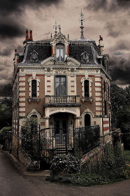 Haunted France by Snapping Platypus, via Flickr