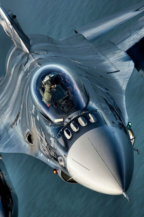 Close up Fighter Jet