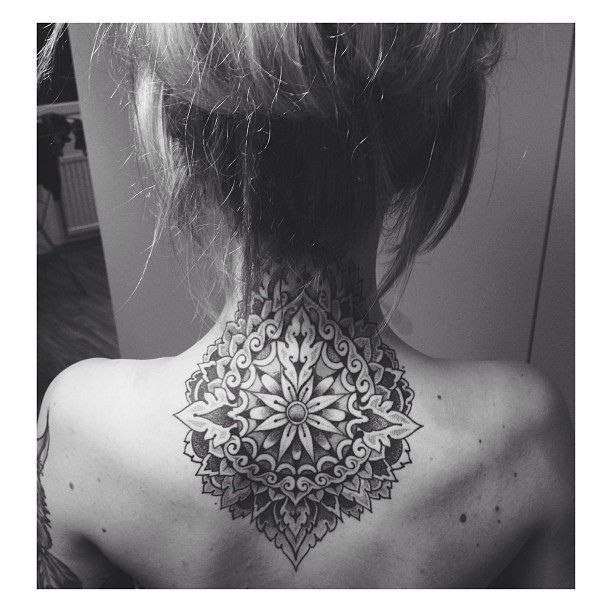 love my mandala tattoo, need more @carltattooist | Flickr - Photo Sharing!