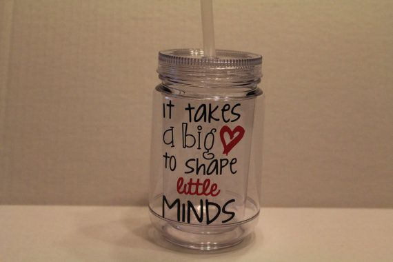 It Takes a Big Heart to Shape a Little Mind Teachers Cup