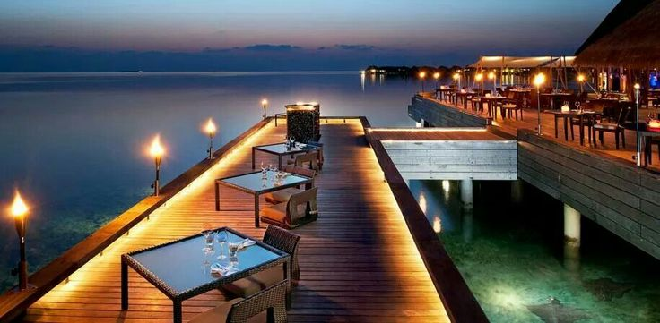 Stunning Night Scenery - Maldives
