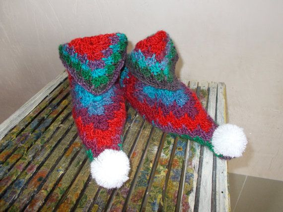 Check out this item in my Etsy shop https://www.etsy.com/listing/267067515/crochet-knitted-slippers-shoes-yarn-mens