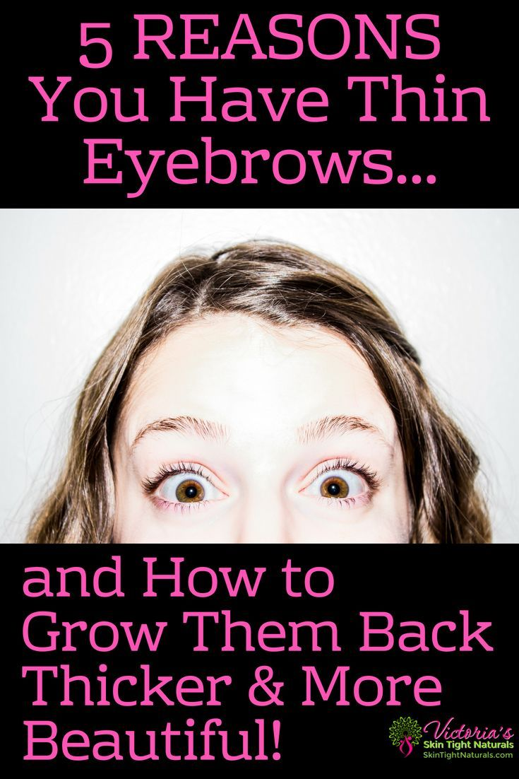 How To Have Thick Eyebrows Beauty Bestshow Tos Pinterest
