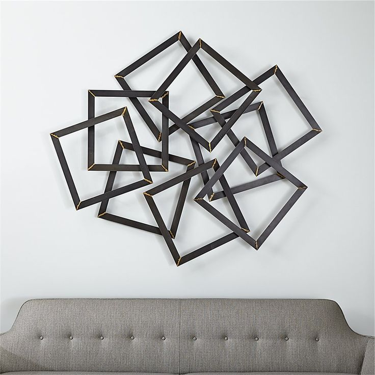 Superieur Multi Squares Wall Art