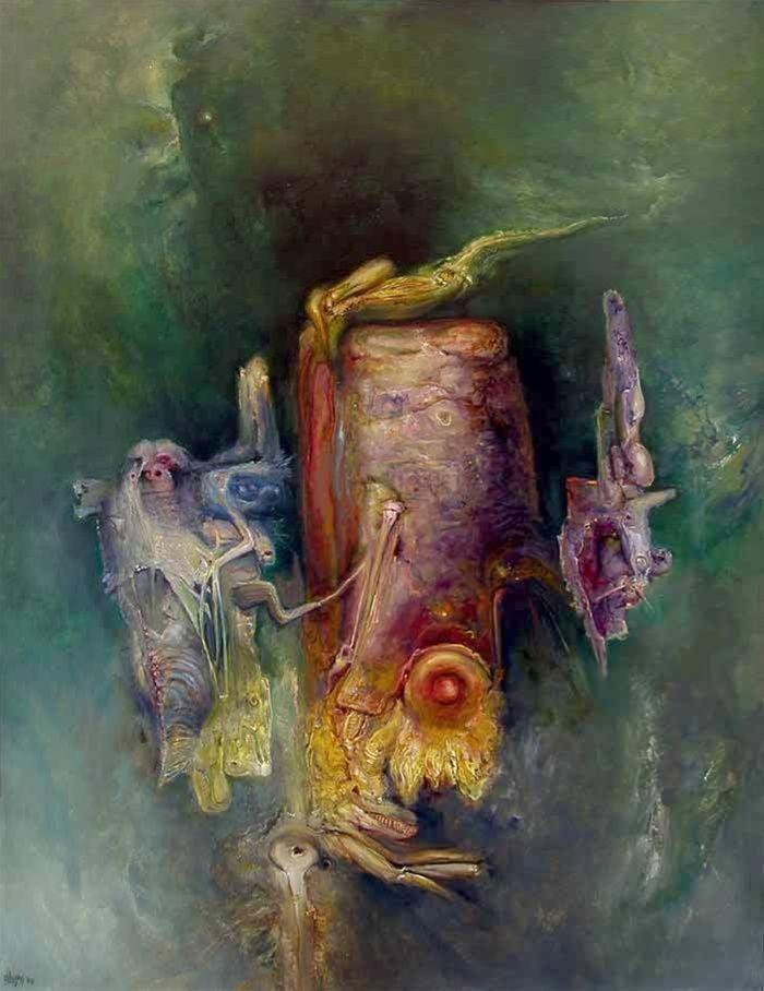 James Gleeson, A Transfigured Equation, 2004