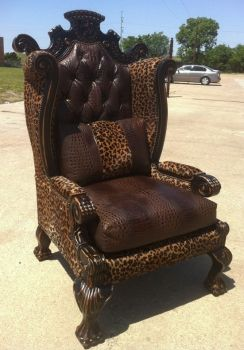 Western Chairs, Leather Chairs, Rustic Furniture, Western Furniture, Leather Fur