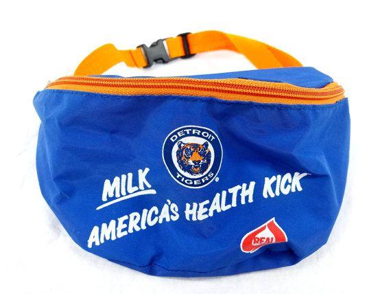 Paquete de Fanny de tigres de Detroit Leche Américas salud Kick lácteos