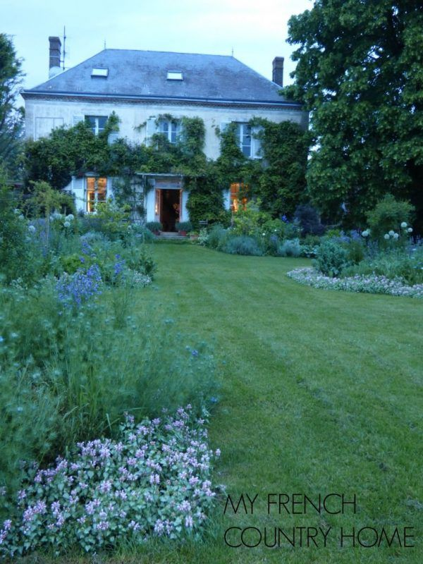 the parterres - a one year update - MY FRENCH COUNTRY HOME