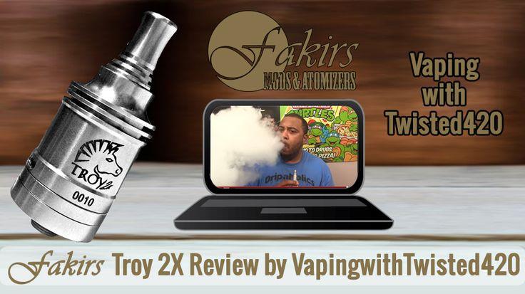 Dear VapingwithTwisted420 was published review of Fakirs Troy 2X on YouTube at March 31, 2015.  Thanks to VapingwithTwisted420. Enjoy it ⚠  #MeetTheFakirs #ecig #FakirsTroy2X #DatTroy2XDoe #vape #vapeon #highendmodsonly #vapelyfe #vapefam #vapearazzi #instavape #nwvapers #calivapers #eastcoastvapers #westcoastvapers #vapersuite #vapesirens #vapesiren #vapestagram #vapecommunity #vaporizer #vapeporn #vaporporn #vaporlife #vapelife #vapelove #dripaddicts