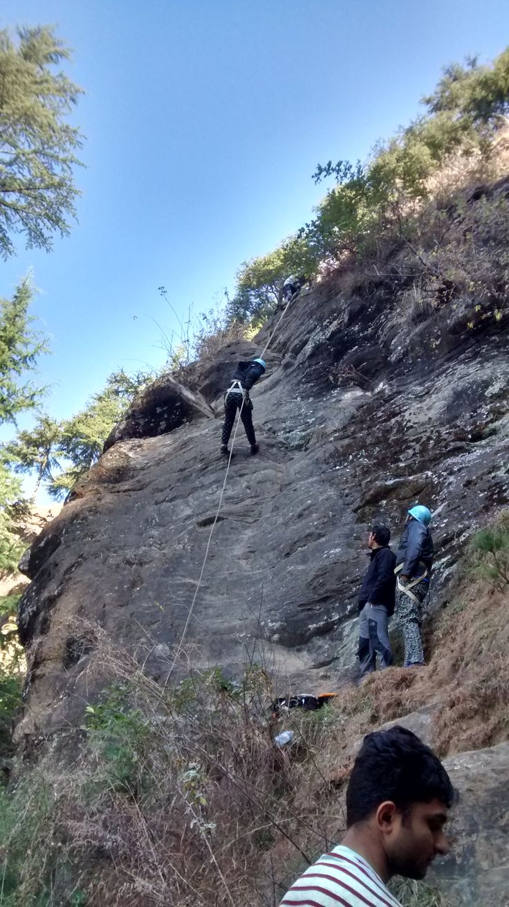 Adventure Time... #himalaya #adventure #rockclimbing #rappeling