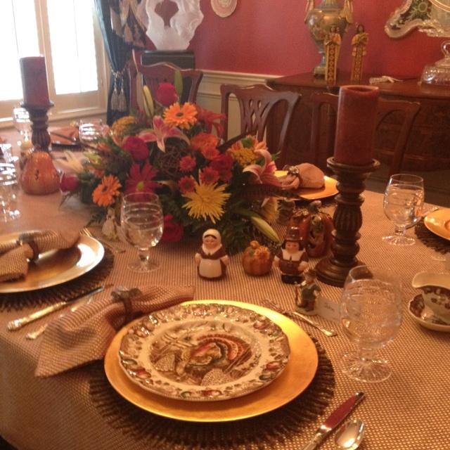 Thanksgiving tablescape | Thanksgiving | Pinterest