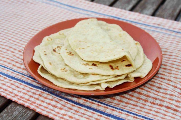 Domácí mexické tortilly z pšeničné mouky // Ochutnejte svět - blog mezinárodní kuchyně
