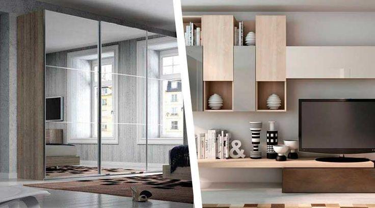 Σύνθετα σαλονιού και ντουλάπες κρεβατοκάμαρας – 3+1 κατασκευές που θα σας ενθουσιάσουν
