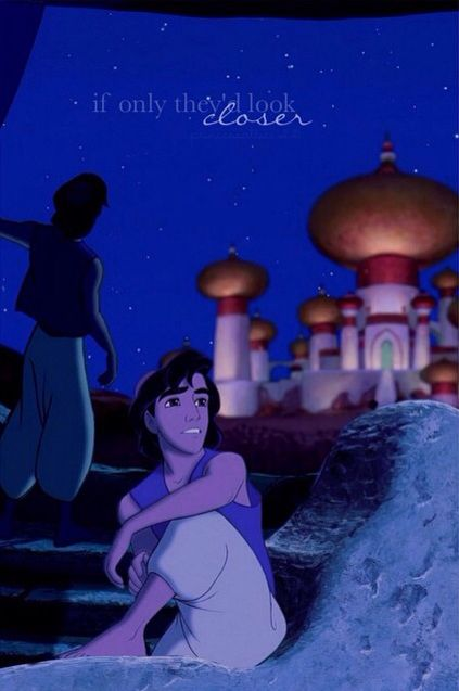 Would they see a poor boy? No sirey! They'd find out, there's so much more to me!!!!! #Aladdin <3