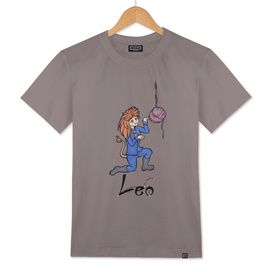 "Leo among the stars - series of T-shirts ""Polaris"""