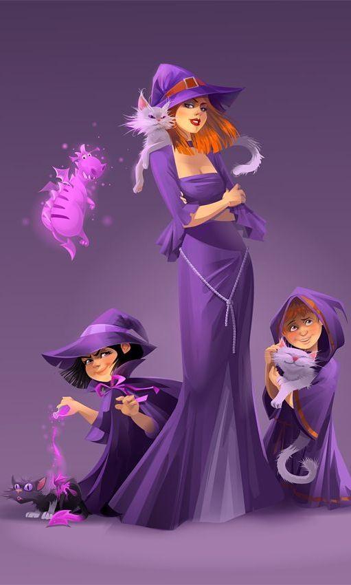 Purple Witchery