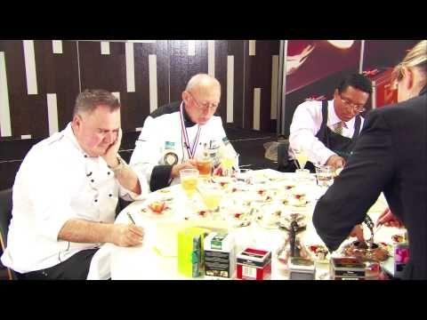 1st place Gold Winning Team from Hippopotamus Restaurant in Museum Hotel, Wellington an the Dilmah Real High Tea New Zealand 2013