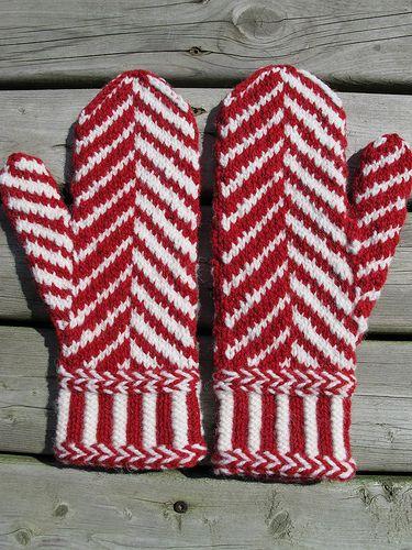 Ravelry: Mega Herringbone Mittens pattern by Sarah H Arnold