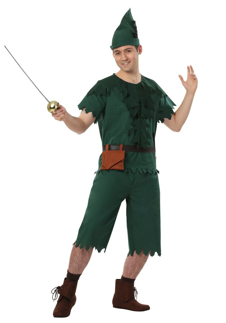 be a kid again this halloween and dress as peter pan go back in time peter pan costumesmens - Male Costumes Halloween
