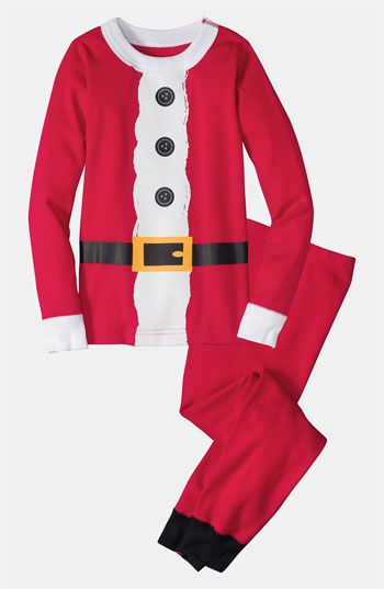 Hanna Andersson Two Piece Fitted Pajamas (Little Boys & Big Boys) available at #Nordstrom
