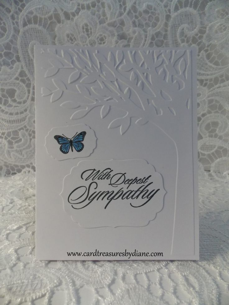 With Deepest Sympathy~Card