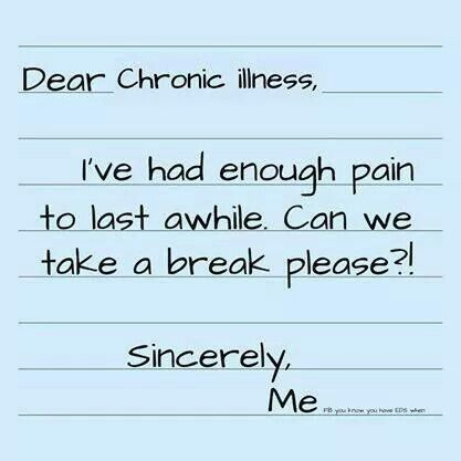 Please?! Rheumatoid Arthritis and Fribromyalgia