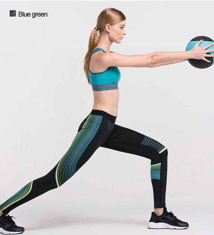 [AP] Women Yoga Pants Sports Leggings Fitness Running Tights Sportswear Woman Jogging Gym Clothes Mallas Mujer Deportivas
