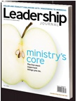 """Leadership Journal, article """"going to hell with tim haggard""""//such wisdom and authenticity"""