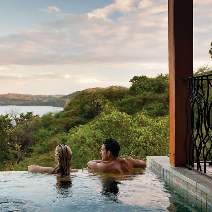 Brides.com: The World's Top 20 Honeymoon Destinations. 16. Costa Rica. The pura vida lifestyle of the Central American country attracts thousands of honeymooners for a tropical rainforest getaway. Costa Rica is rich with ecotourism; remote beaches, volcanoes, waterfalls, national parks, rafting, surfing, and more abound. Elite resorts nestled into the landscape offer couples an unparalleled window into the country's lush flora and fauna.