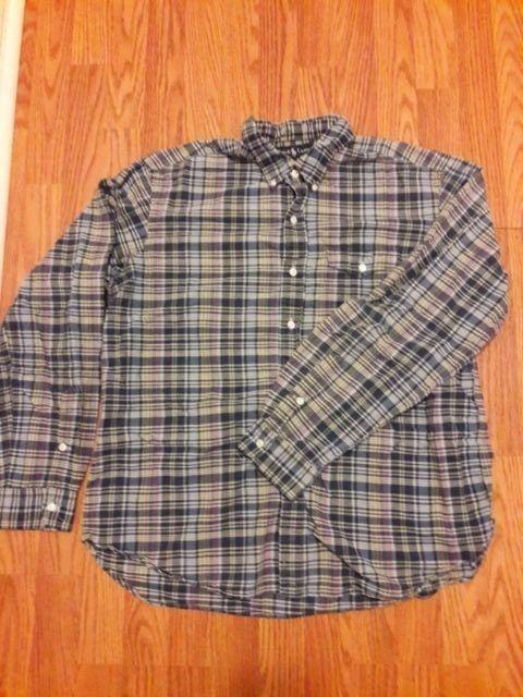 Ralph Lauren Men Shirt XL Button Front Long Sleeve Free Shipping  #RalphLauren #ButtonFront