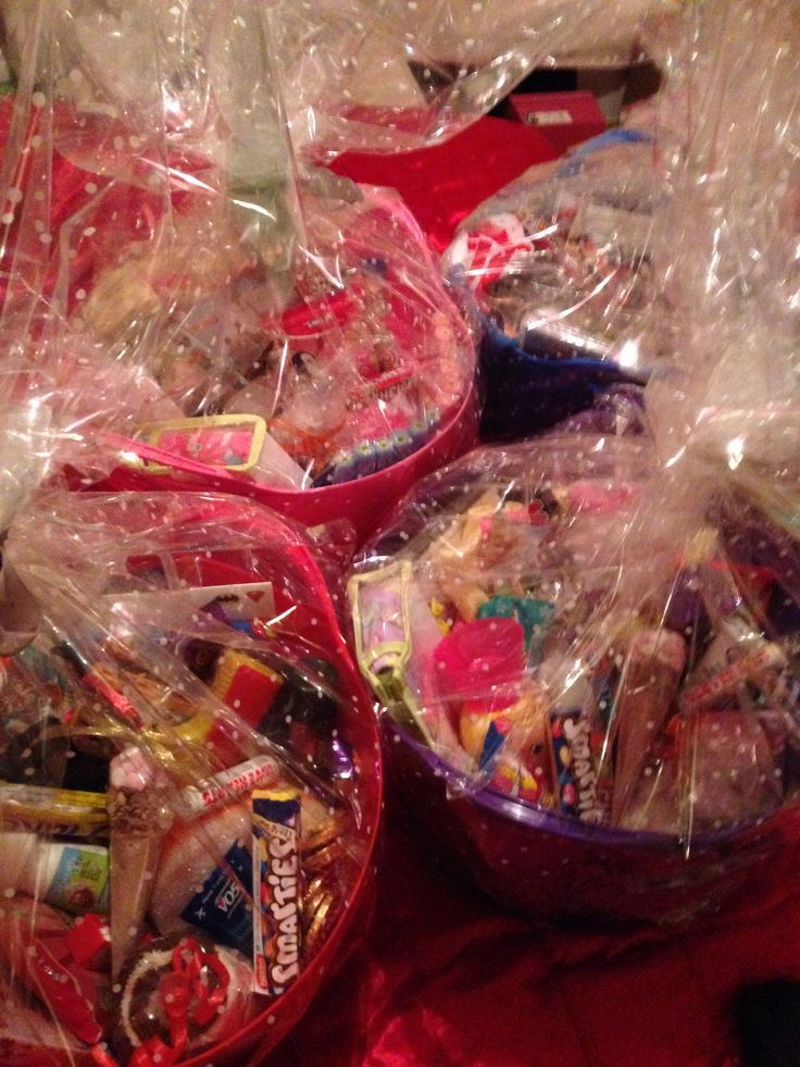 Sleepover hampers