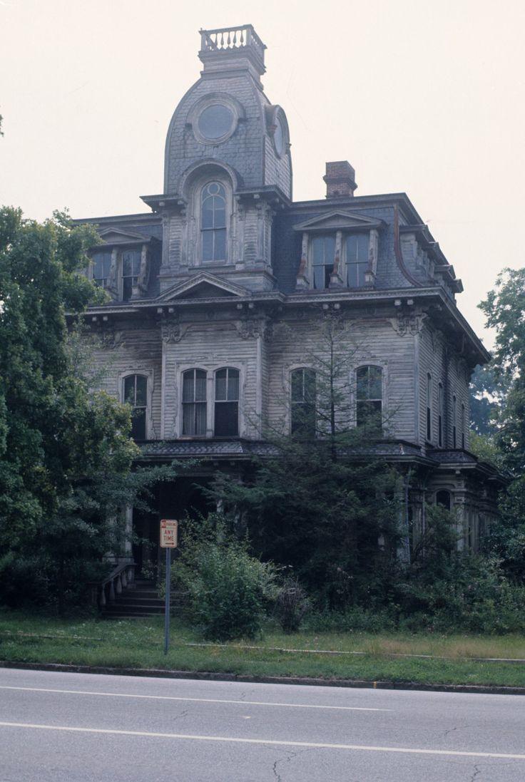 View, Heck-Andrews House, Raleigh, Wake County, North Carolina