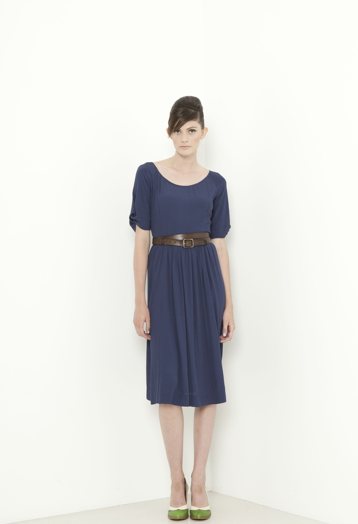 West End Dress - french navy