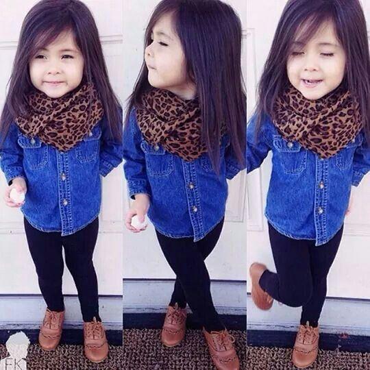 Moda de niñas fashion