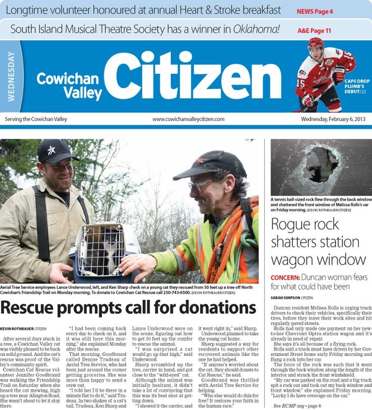 Citizen Front Page Feb. 6, 2013