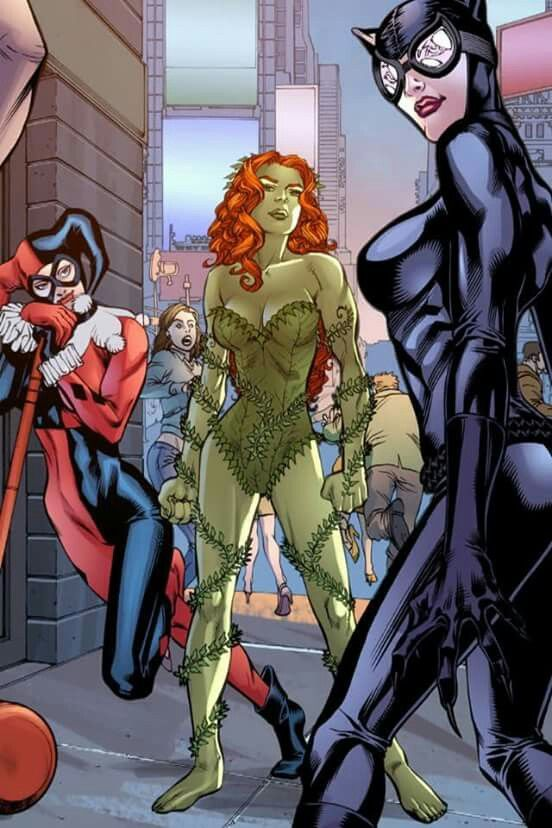 ✧ DC Comics : jpsunshine10041✧ Batman Female Villains