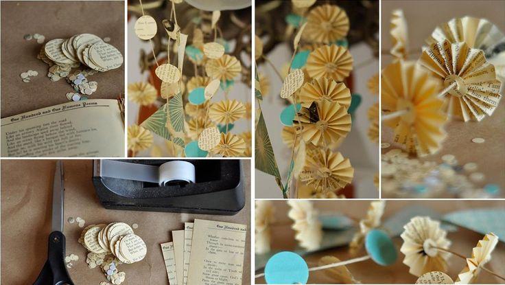 HappyModern.RU   Гирлянды из бумаги своими руками (50 фото): декор для уютного дома   http://happymodern.ru
