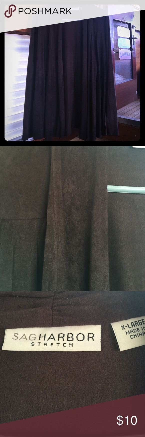 Dressy jacket Chocolate brown light weight jacket   Very soft excellent condition Jackets & Coats Blazers